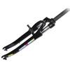 SR Suntour SF9 CR-9V D Verende fietsvork 28 50 mm 1 1/8 180 mm schroefdraadschacht zwart